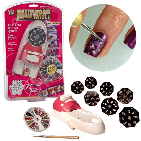 Уред за декориране на маникюр Hollywood nails